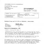 """Quendolina von Schloß Thiergarten, Laborbefund """"Degenerative Myelopathie"""""""